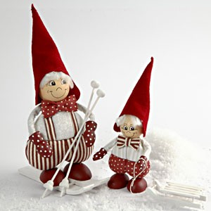 vianocni lyziari